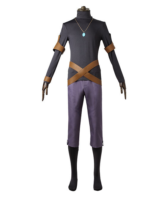 Black Clover Yuno Outfit Cosplay Costume