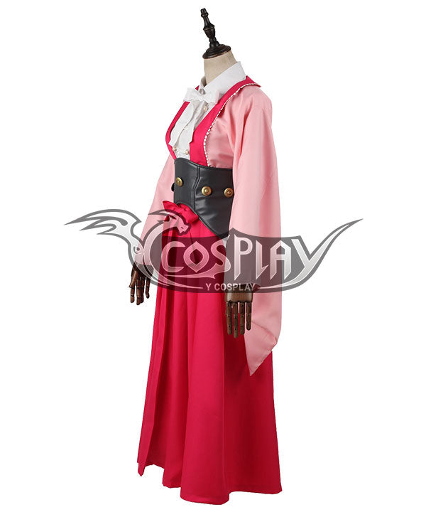 Kabaneri Of The Iron Fortress Ayame Cosplay Costume