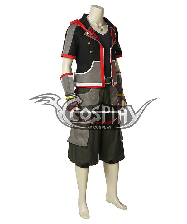 Kingdom Hearts III Kingdom Hearts 3 Sora New Edition Cosplay Costume
