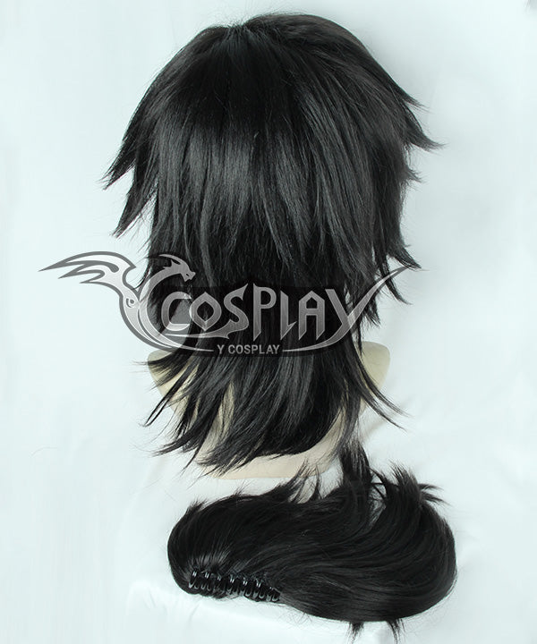 Demon Slayer: Kimetsu No Yaiba Giyuu Tomioka Black Cosplay Wig