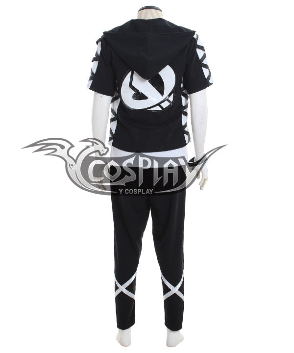 Pokemon Sun and Moon Team Skull Guzma Cosplay Costume