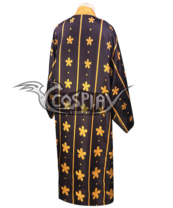 One Piece Wano Country Trafalgar D Water Law Cosplay Costume