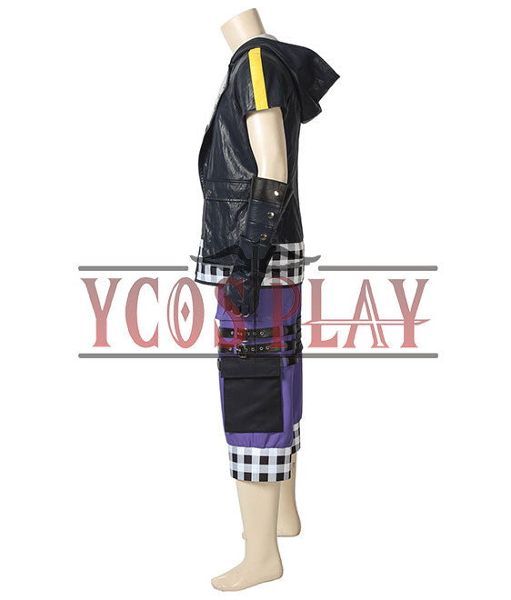 Kingdom Hearts III Riku Cosplay Costume