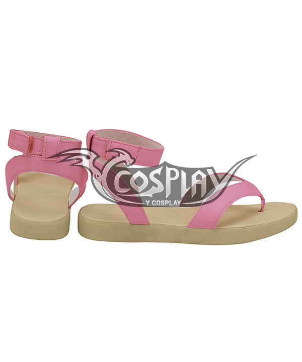 Demon Slayer: Kimetsu No Yaiba Nezuko Kamado Pink Cosplay Shoes
