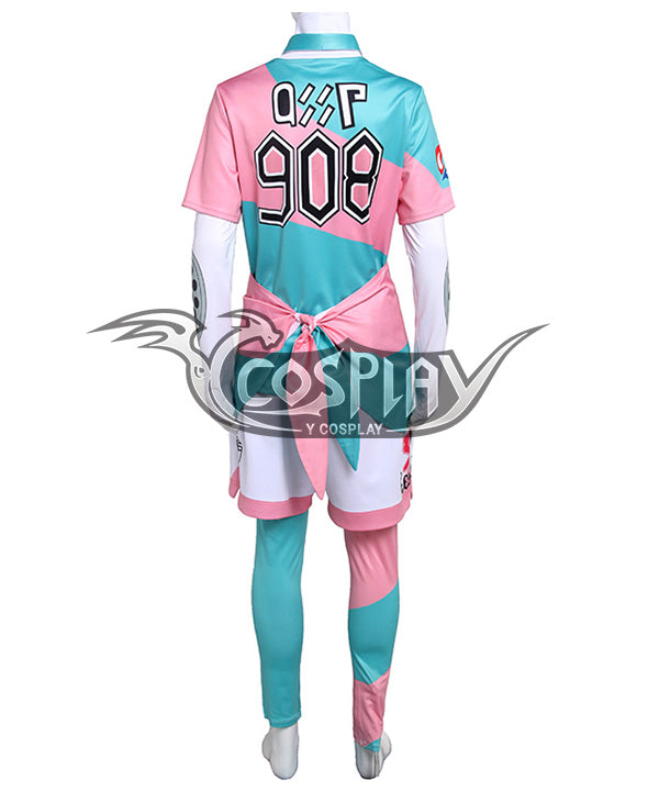 Pokemon Pok¨¦mon Sword And Shield Bede Uniforms Cosplay Costume