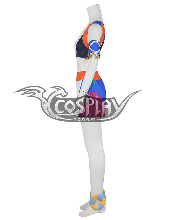Pokemon Pok¨¦mon Sword and Shield Nessa Cosplay Costume
