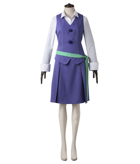 Little Witch Academia Jasminka Antonenko Amanda O'Neill Summer School Uniform Cosplay Costume