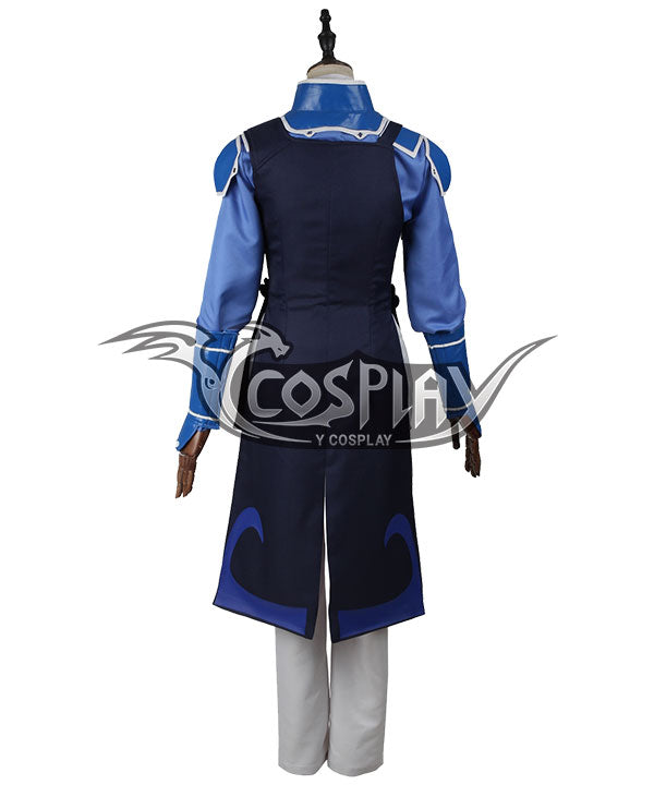 Kabaneri Of The Iron Fortress Kurusu Blue Cosplay Costume