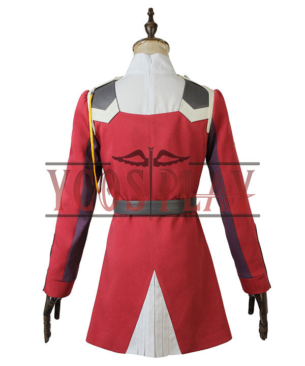 Darling In The Franxx Zero Two Code 002 Cosplay Costume