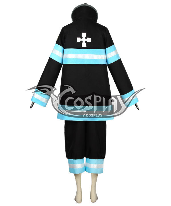 Fire Force Enen No Shouboutai Tamaki Kotatsu Battle Uniform Cosplay Costume