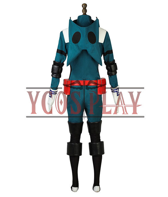 My Hero Academia Boku No Hero Akademia Izuku Midoriya Deku Battle Suit Cosplay Costume