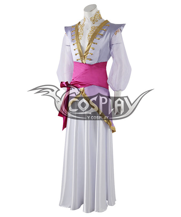 The Arcana Asra Purple Cosplay Costume