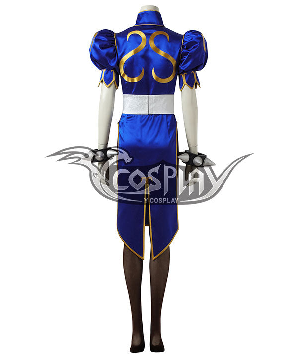 Street Fighter Chun Li Cosplay Costume