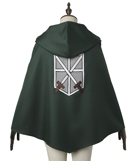 Attack On Titan Shingeki No Kyojin Mikasa Akkaman Mikasa Ackerman Uniform Cosplay Costume