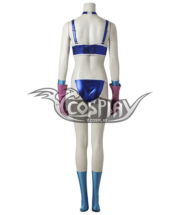 Dragon Ball Chi Chi Jr. Cosplay Costume - No Shoes