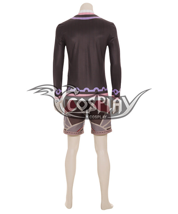 Xenoblade Chronicles : Definitive Edition Shulk Purple Cosplay Costume