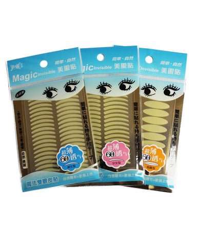 EYELID TAPE trio (S,M,L) - Eyelid Lifting without Surgery [3x60 Pairs]