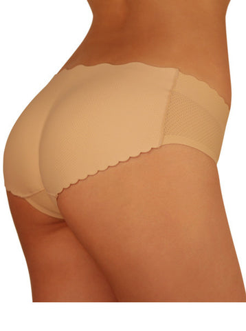 SodaCoda seamless in-build padded low rise pants Black or Nude
