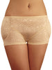SODACODA Boyshort Foam Padded Hip and Butt Enhancer with Tummy Control Lowrise Lace - Black & Nude (XS-XL = UK 6-16)