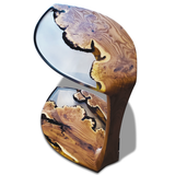 Serrate Leaf Side Table, End & Side Table, Arditi Collection, Luxury Furniture, Epoxy Resin