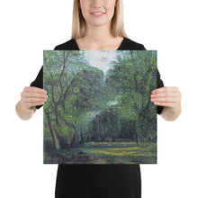 Load image into Gallery viewer, Bosque frondoso - AI Art printed in canvas