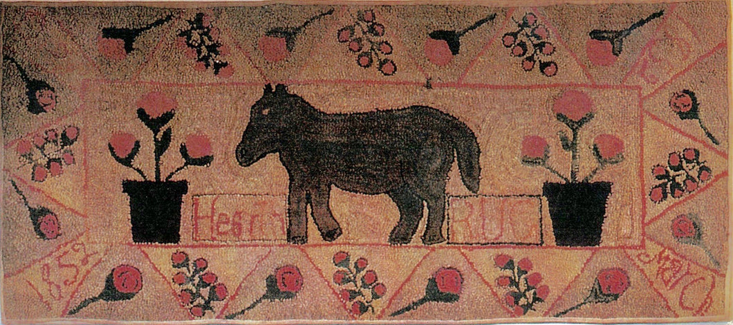 Horse with Pot of Flowers (#178)