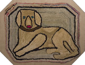 Dog in Octagonal Border (#458)