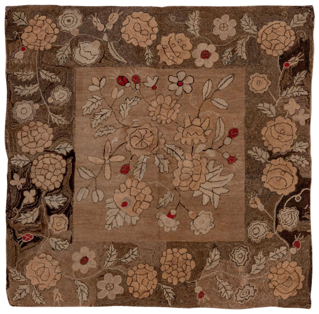 Autumn Floral Square 1880 (#516)