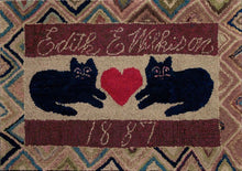 Load image into Gallery viewer, Cats with a Heart 1887 (#176)