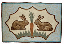 Load image into Gallery viewer, Rabbits Sharing a Carrot (#153)