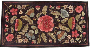 Antique Floral Runner (#27)