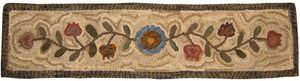1860 Floral Table Runner #1 (#48)