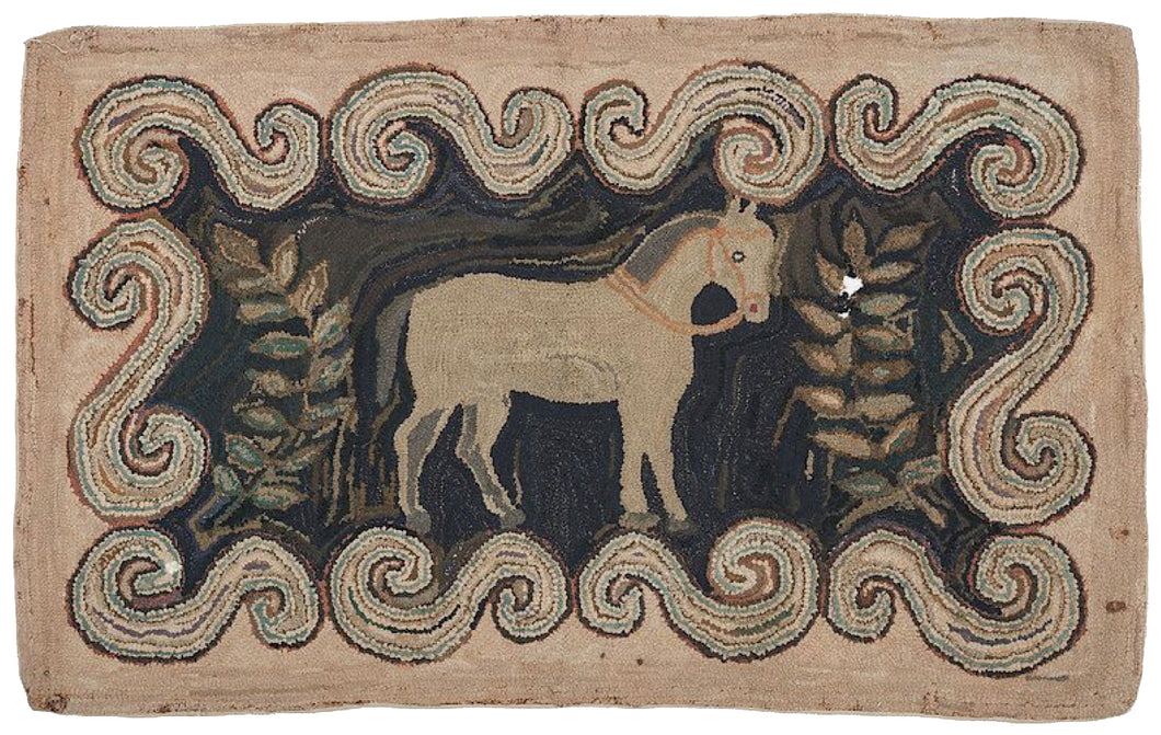Horse in Primitive Scrolls (#401)