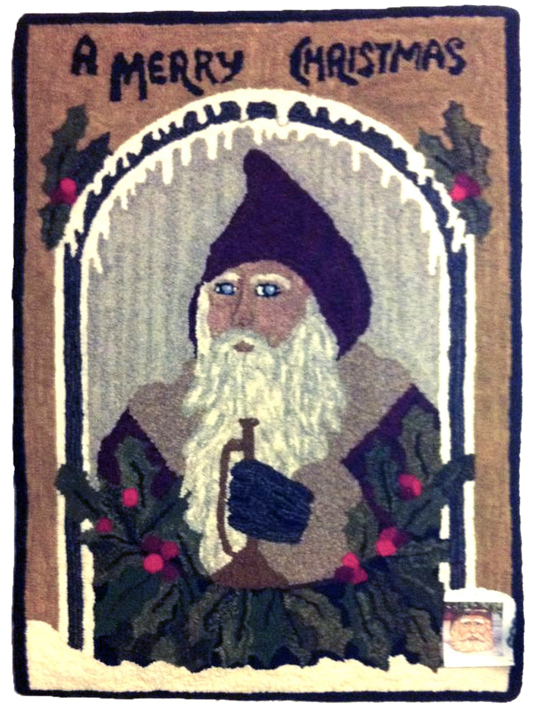 Saint Nicholas with Horn Looking Through Window (#33)