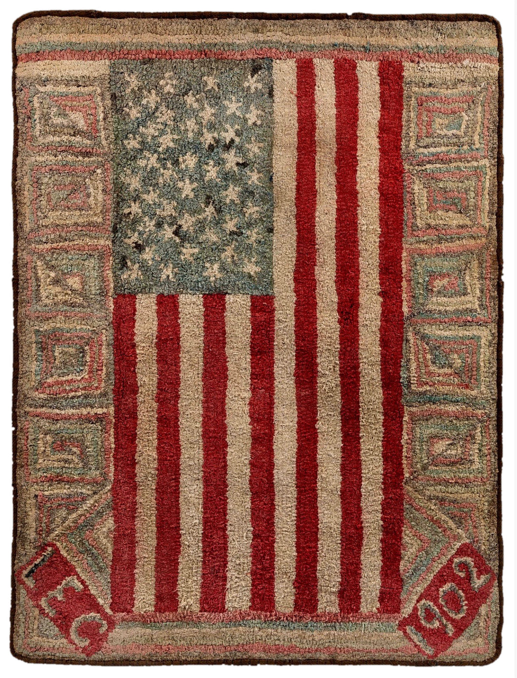 Laura's 46 Star Flag 1902 (#403)