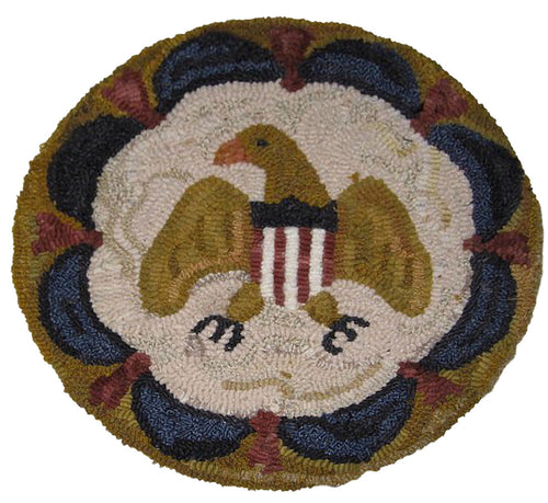 Eagle and Swags Mat (#246)