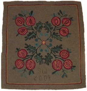 Coverlet Pomegranates 1850 (#40)
