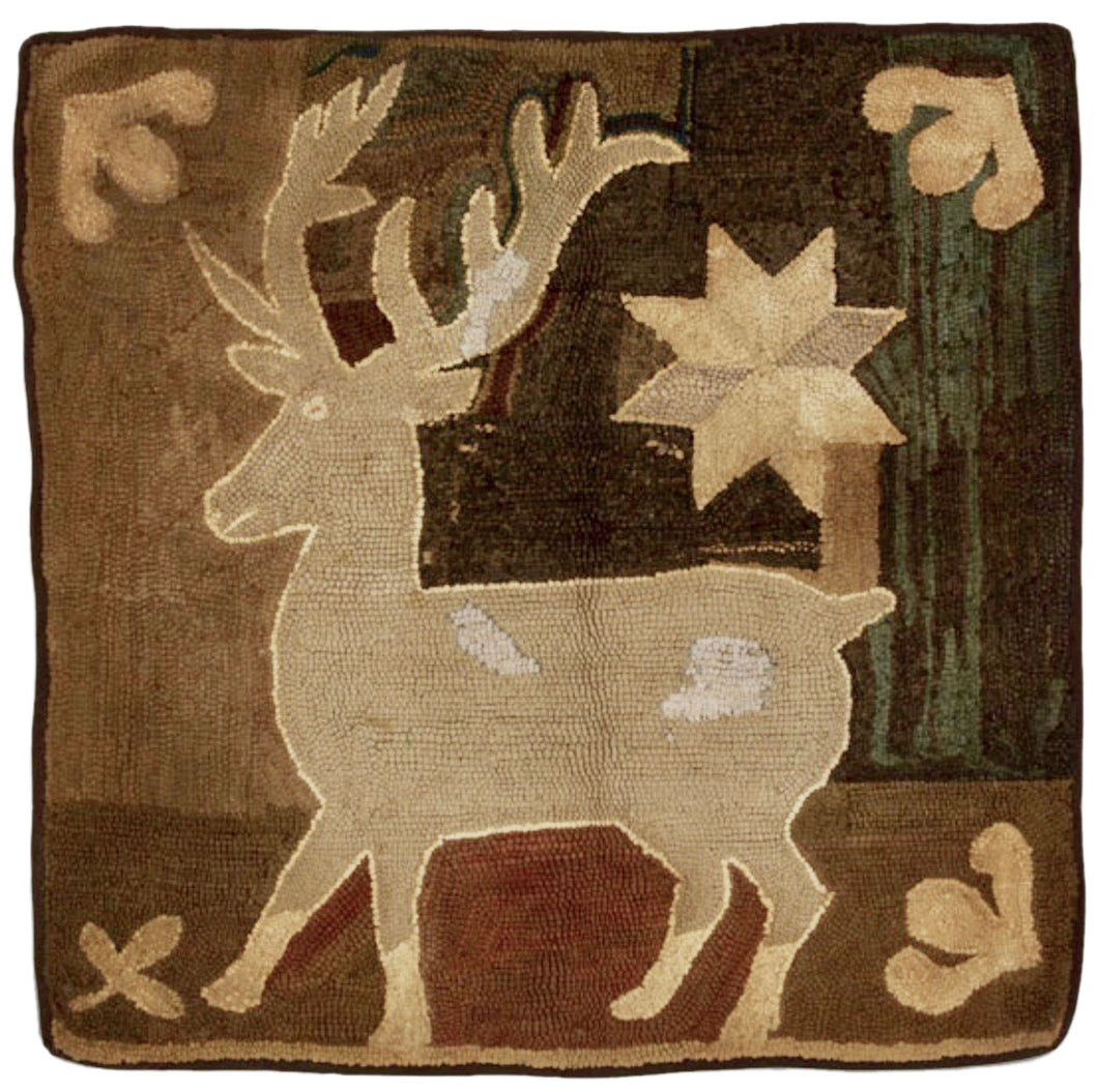 Deer with Eight Pointed Star (#523)