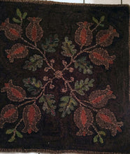 Load image into Gallery viewer, Coverlet Pomegranates 1850 (#40)