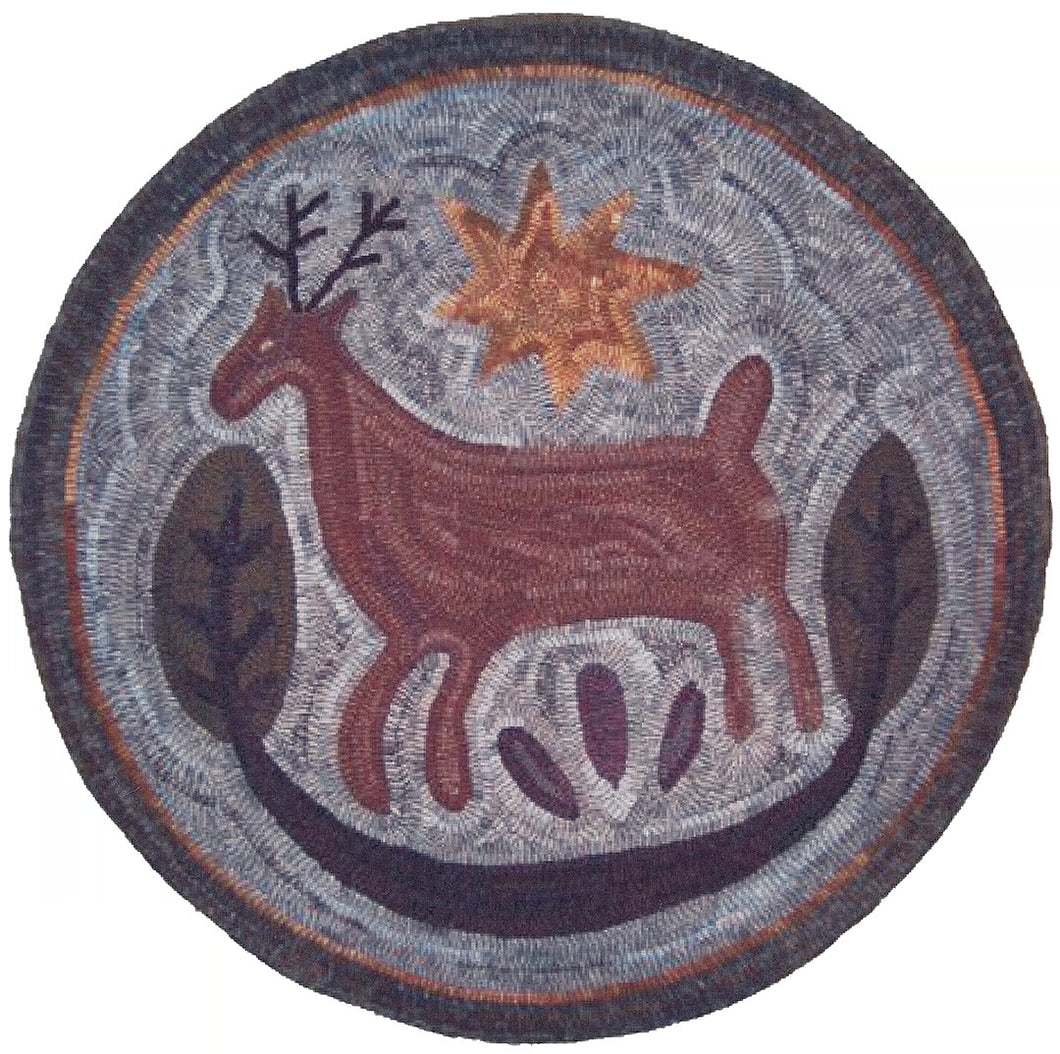 Butter Mold Deer (#195)