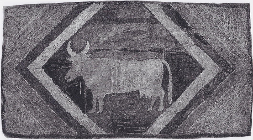 Cow with Horns (#123)