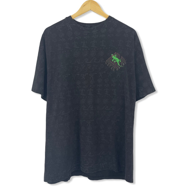 Gecko Hawaii Allover Print T-shirt