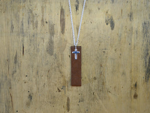The Golden Rule -necklace brown