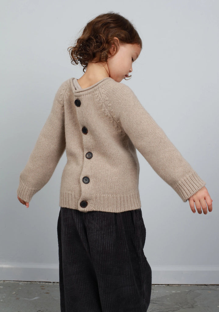 N°4 WEAR IT BACKWARDS CARDIGAN