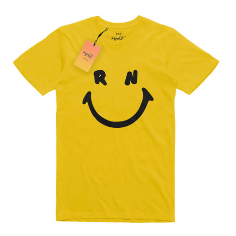 Smiley T-Shirt - Yellow