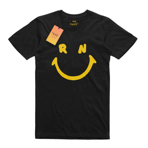 Smiley T-Shirt - Black