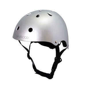 Banwood Classic Helmet - Chrome