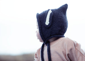 Acorn Floppy Ears Bonnet Grey