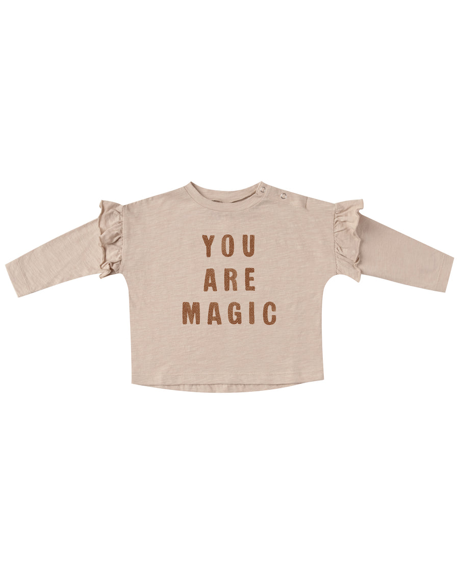 Rylee & Cru You Are magic ruffle Tee