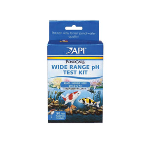 API Wide Range pH Pond Water Test Kit